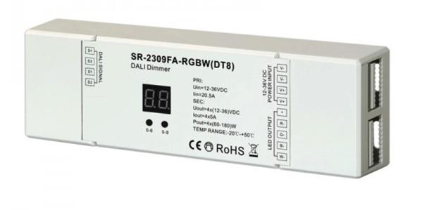 RGBW DT8 DALI Dimmer SR 2309FA RGBW