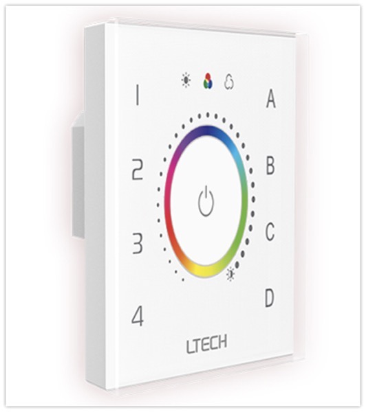 DALI RGB touch panel EDT3 DALI Master Controller|DALI|Products| LED Controller | LED Dimmable Driver | Intelligent Home  LTECH 2020 06 11 17 31 54