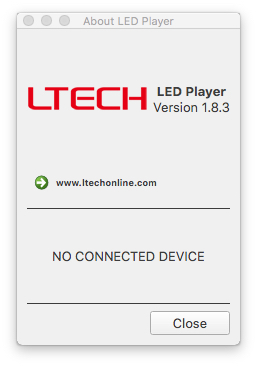 About LED Player 2020 07 19 08 09 12