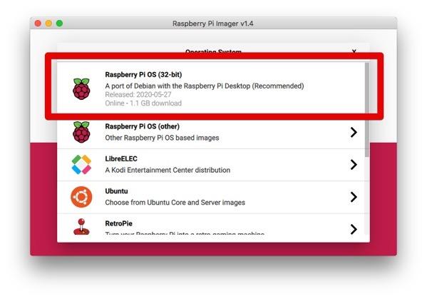 Raspberry Pi Imager v1 4 2020 08 15 13 53 42