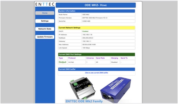 ENTTEC ODE MK2 Web Control 2021 06 28 07 14 59