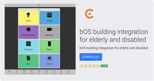 BOS building integration for elderly and disabled  Smart Home Building Automation Software  ComfortClick bOS 2021 10 11 22 29 45